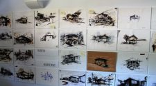 Dibujos de los alumnos (Escuela Técnica Superior de Arquitectura de la Universidad Politécnica de Madrid)